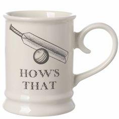 Sporting Mug Cricket Hows That Cricket, Mugs, Country, Tableware, Inspiration, Dinnerware, Biblical Inspiration, Rural Area, Cricket Sport