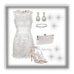 """Silver lining"" by hinson-hunny ❤ liked on Polyvore"
