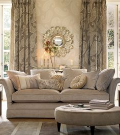 Such a lovely warm lounge room..