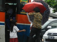 Umbrella #JATIASIH #kopaja #Jakarta After rain