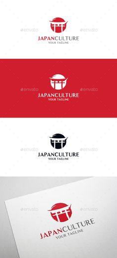 Epic Cool EPS Japan Culture Logo Template • Only available here ➝ http://graphicriver.net/item/japan-culture-logo/16294928?ref=pxcr                                                                                                                                                                                 More