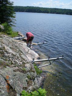 Docks Lake, Lake Dock, Boat Dock, Lake Landscaping, Floating Dock, Cool Inventions, Decking, Building Materials, Boating