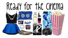 """Ready for the cinema"" by dancelover-567 ❤ liked on Polyvore featuring FAUSTO PUGLISI, Glamorous, Domo Beads, Isaac Mizrahi, Butter London, Eos, Bare Escentuals, Giuseppe Zanotti, Chanel and Adina Reyter"
