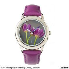 three tulips purple watch