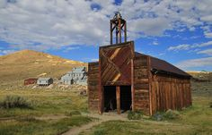 Bodie Ghost Town Ring The Bell Photograph
