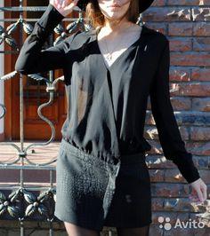 Платье комбинированное от французского бренда Bash— фотография №3