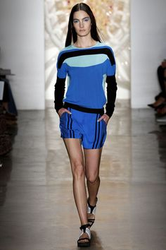 Ohne Titel Spring 2013 RTW -- the most successful casual sportswear I have seen in a while