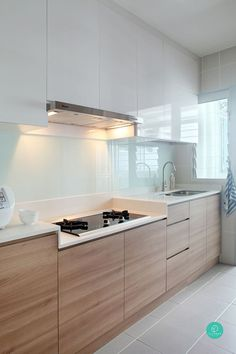 Modern Kitchen Design Here are 8 well-designed homes to make your OCDs (obsessive-compulsive disorder) something to easier live with. - Here are 8 well-designed homes to make your OCDs (obsessive-compulsive disorder) something to easier live with. Kitchen Ikea, Modern Kitchen Cabinets, Kitchen Cabinet Design, Kitchen Sets, Modern Kitchen Design, Kitchen Layout, Interior Design Kitchen, Kitchen Decor, Kitchen White