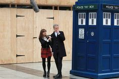 8 New Doctor Who filming pics (+ a video!) show more of Peter Capaldi's costume | Blastr