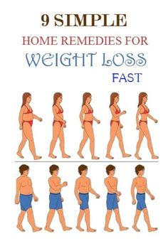 Top 9 Simple Home Remedies for Weight loss Fast
