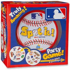 Baseball Spot it! Game MLB 2012 Edition