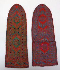 19th Century Iranian Socks.