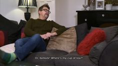 Gogglebox, a look into Britains living rooms Funny Pins, A Funny, Hilarious, Stupid Stuff, Fun Stuff, Tv Quotes, Funny Quotes, Uk Vs Usa, British Humour