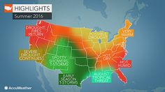 As a strong El Niño fades, the weather across the country will slowly change. In much of the eastern United States, a hot summer is in store.
