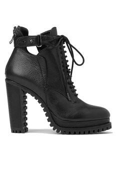 The Inside Track To Fall Footwear Domination #refinery29  http://www.refinery29.com/tread-sole-booties#slide1