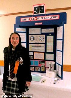 15-year-old Canadian girl invents flashlight powered only by body heat and earns spot in Google Science Fair finals