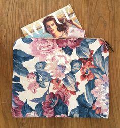 quilted garden pouch