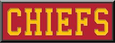 Kansas City Chiefs Team Name Is Mat Cut Out Letters With Team Color Double Matting-Framed Awesome & Beautiful Large Picture-All Teams Available-Please Go Through Description & Mention In Gift Message If Need A different Team