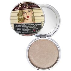 theBalm Mary Lou Luminizer - Highlighting Powder ($32) ❤ liked on Polyvore featuring beauty products, makeup, face makeup, face powder, make, bettylou, thebalm and highlight face makeup