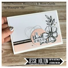 Shop with me 24/7 in Australia! Petal Passion Memories and More Cards for the #IIBH Ink and Inspiration Blog Hop Jan Love theme #JessieHolton #StampinUp