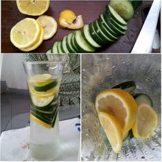Cucumber & Lemon Infused Water :)   DIY! :) 1 medium cucumber, 1 lemon, water. Steep overnight in fridge and drink every day.  Best water to boost weight loss and also great for general detox. Indulge! :)