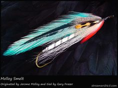 #55 in the streamers 365 project. Molloy Smelt tied by Gary Fraser.