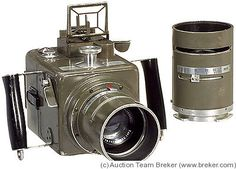 Hasselblad Ross HK7 (1941) - Medium format camera that manufactured for use in military planes during World War II.