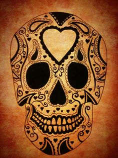You Can't get a dia de Los muertos tattoo and not get lots of beautiful color!