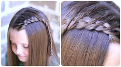 Crossover Dutch Braid   Cute Girls Hairstyles