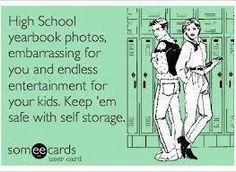 #SelfStorage is a great way to hide embarrassing high school photos #KeepEmSafe