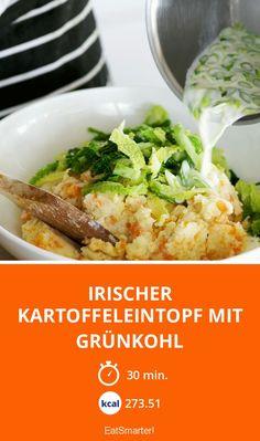 Irischer Kartoffeleintopf mit Grünkohl - smarter - Kalorien: 273.51 kcal - Zeit: 30 Min. | eatsmarter.de