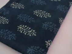 India Cotton Fabric/handmade fabric/Natural by CraftyJaipur
