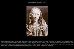 Renaissance weiblich / Bleistift RZ © 1971 / Text RZ © 2008 🥰