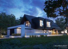 Projekty domów LK&Projekt LK&1336 wizualizacja 10