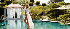 Caftan Blanc Soie Lina Audi pour Liwan Madame Figaro 2015