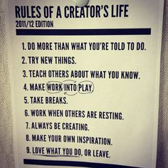 I love this set of RULES!!!