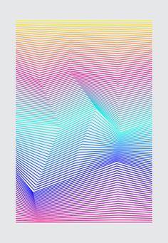 Miami Art Print - ramification
