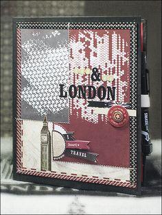 SCRAP´ inFeACTed: ★ London - Reise-Journal - Schritt 4 ★