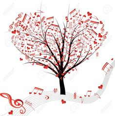 Illustration about Illustration of a musical tree with notes. Illustration of ideas, ornate, colorful - 28021810 Music Pics, Music Artwork, Music Music, Musik Illustration, Music Tree, Music Heart, Music Symbols, All About Music, Music Notes
