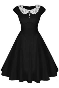 1940s Dress Styles Audrey Hepburn Style 19d0s Rockabilly Evening Dress $26.50 AT vintagedancer.com