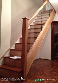 The invoice on these newly installed stairs is not as big as you might imagine!