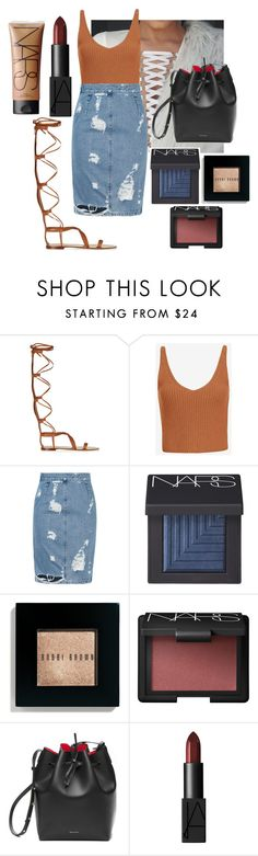 """Untitled #109"" by marinaxmilos ❤ liked on Polyvore featuring Valentino, Exclusive for Intermix, Acne Studios, NARS Cosmetics and Bobbi Brown Cosmetics"