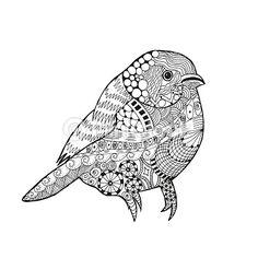 Coloriage Mandala Oiseau.252 Meilleures Images Du Tableau Coloriage Oiseaux Birds Free
