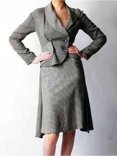 Cool tailored vintage Westwood skirt suit.
