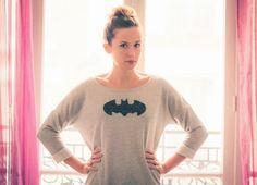 diy glitter batman, customisation