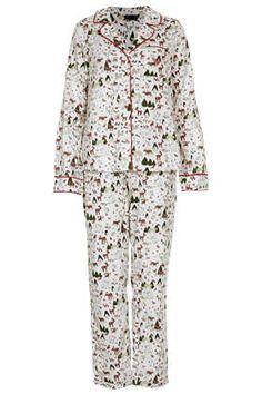 Animal Pyjama Set, need these for Christmas #topshop