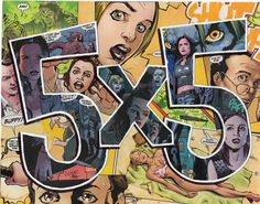Original Buffy the Vampire Slayer Comics Collage by PowerUpCollage, $30.00 #VeryWhedonChristmas