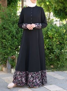 Women's Islamic Clothing: New Summer Collection Abaya Fashion, Modest Fashion, Fashion Dresses, Mode Abaya, Mode Hijab, Muslim Dress, Hijab Dress, Muslim Women Fashion, Abaya Designs