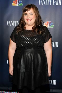 Aidy Bryant Photos Photos - Actress Aidy Bryant attends NBC's 2013 Fall Launch Party Hosted By Vanity Fair at The Standard Hotel on September 2013 in New York City. - NBC's 2013 Fall Launch Party in NYC Fat Girl Fashion, Curvy Fashion, Plus Size Fashion, Aidy Bryant, Celebs, Celebrities, Woman Crush, Amazing Women, Style Icons