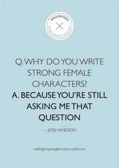 Joss Whedon = Awesome